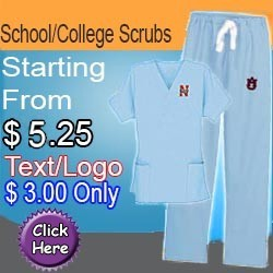 college scrubs